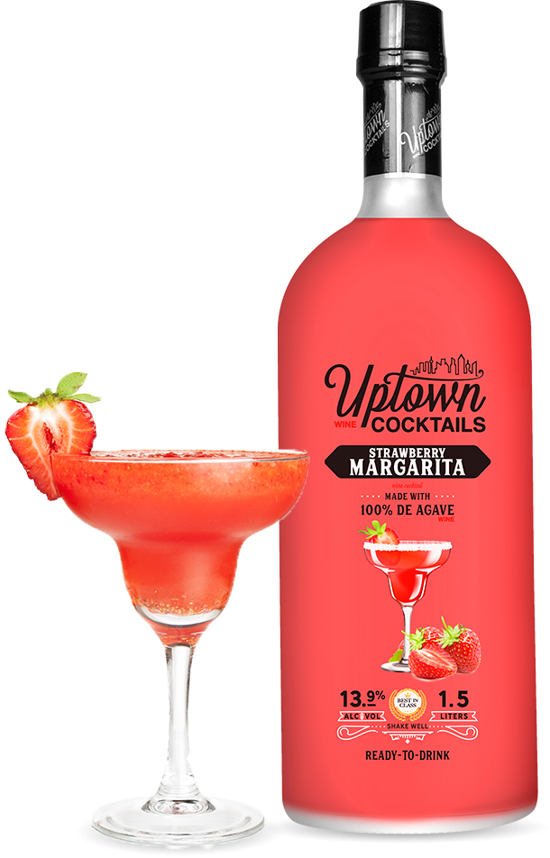 Strawberry Uptown Cocktails
